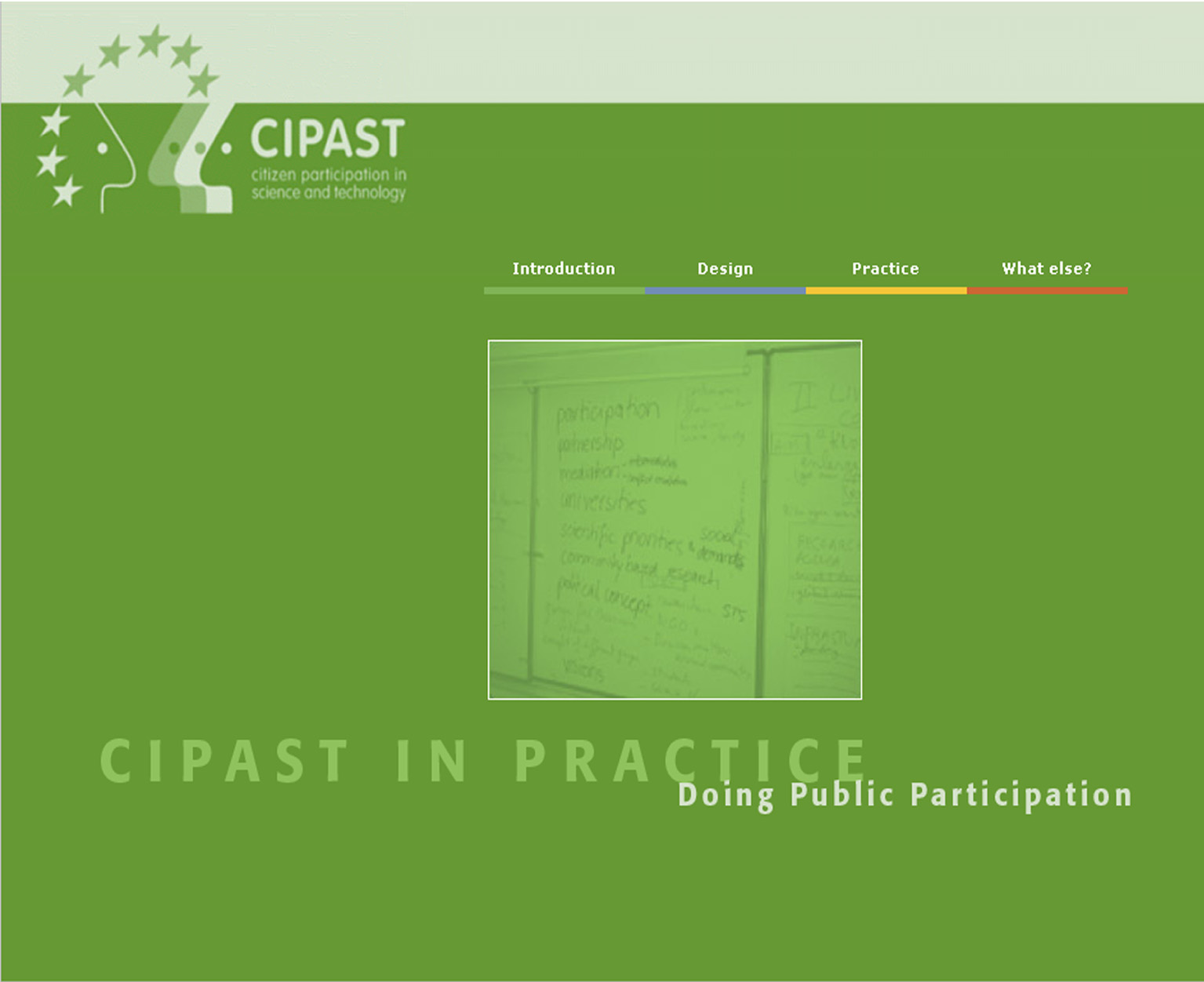 Open CIPAST Training Package